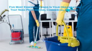 Five Most Essential Things In Your Organisation That Need Professional Commercial Cleaning