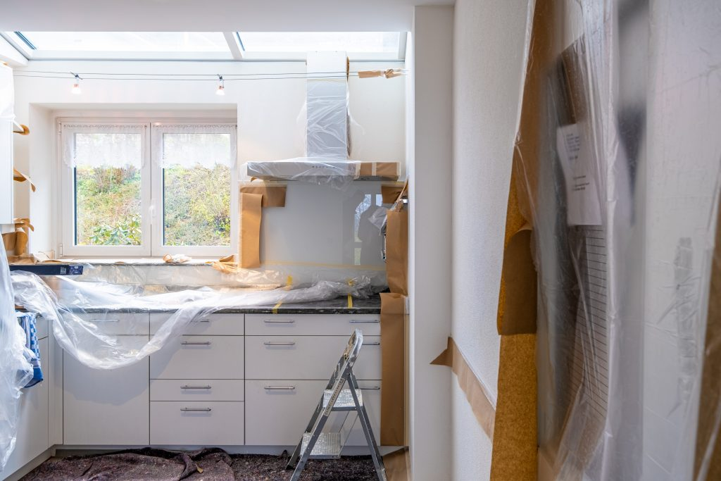 Builders Cleaning Sunshine Coast - interior of house construction
