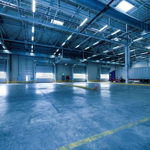 Industrial Cleaning Gold Coast - empty warehouse with clean floor