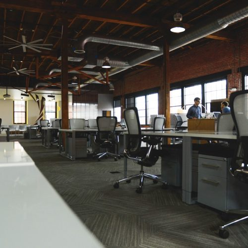Commercial Cleaning Gold Coast - large modern office space