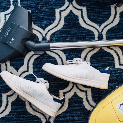 Carpet Cleaning Gold Coast - vacuum head and shoes on carpet